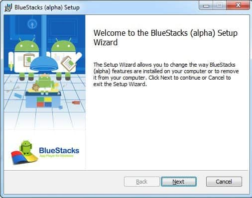 Bluestacks 1 setup download