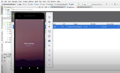 Android Studio emulator