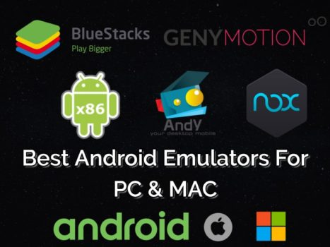 Android Emulators for PC Windows 10