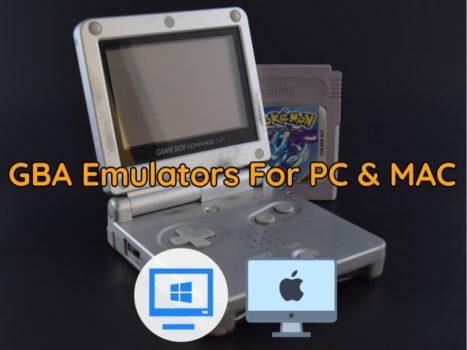 GBA Emulators For Windows 10 PC