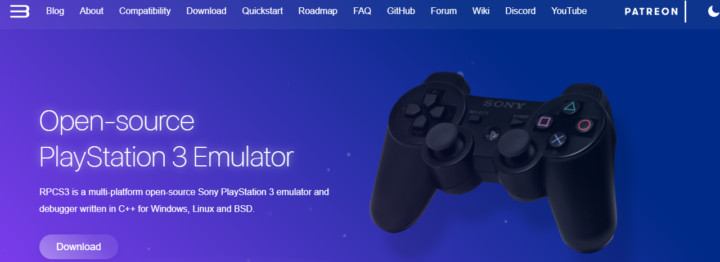 RPCS3 PS3 emulator