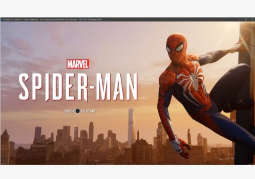 playing spiderman game on PS2 emulator pcsx4