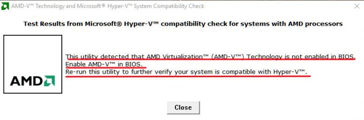 AMD-V compatibility