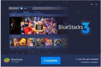 Installing Bluestacks on PC
