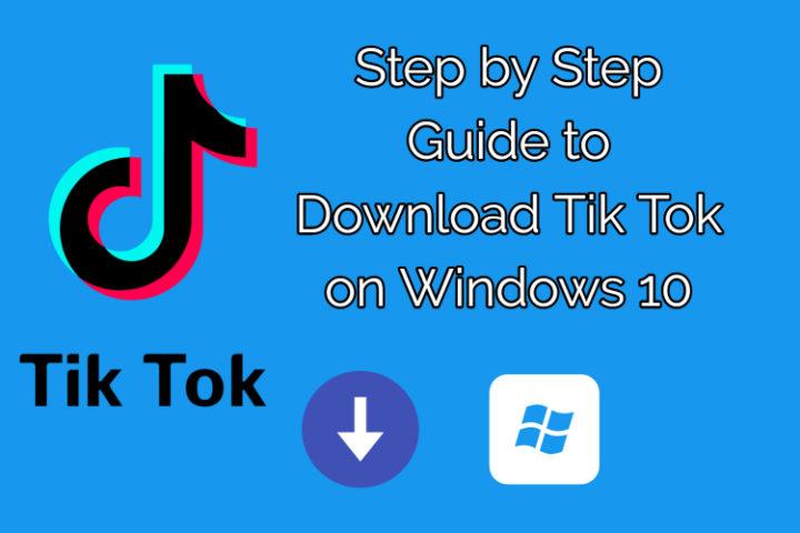 Download Tik Tok on Windows 10 PC