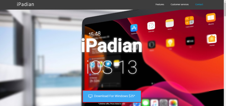 Official iPadian download page