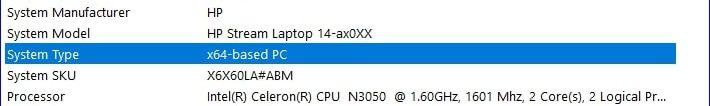 X64 Based PC